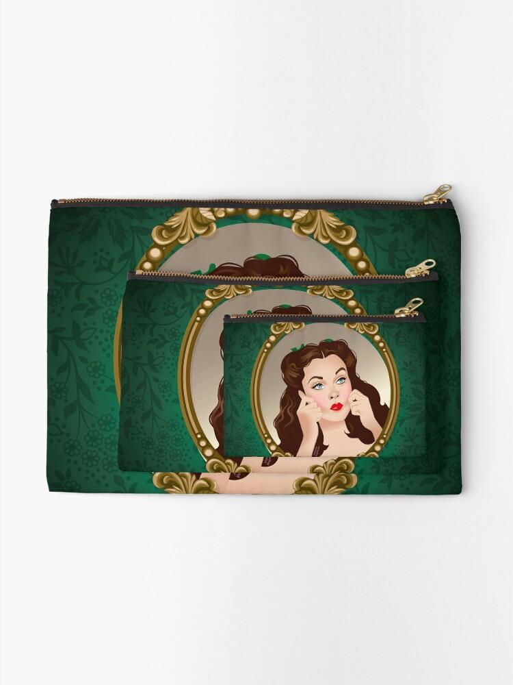 Alternate view of Scarlett Mirror Zipper Pouch