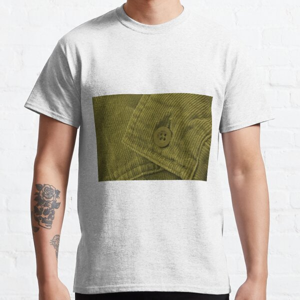 Green Corduroy 2 Classic T-Shirt
