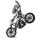Women Who Ride - Buckin' Bronco by Amanda Zito