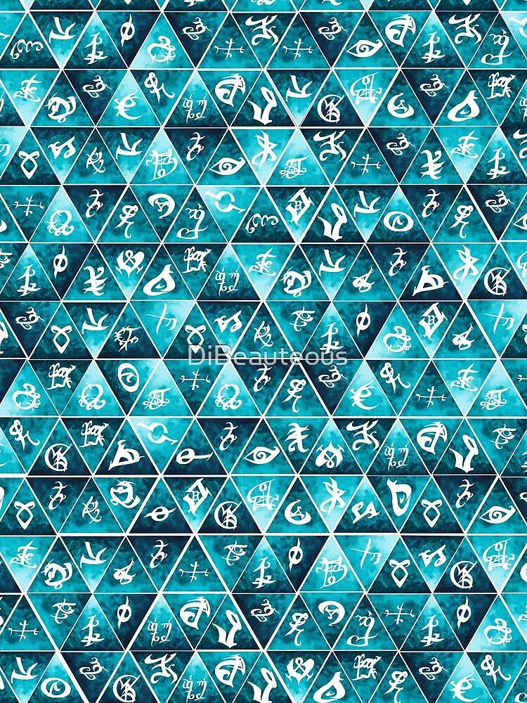 Shadowhunters Runes Mosaic by DiBeauteous