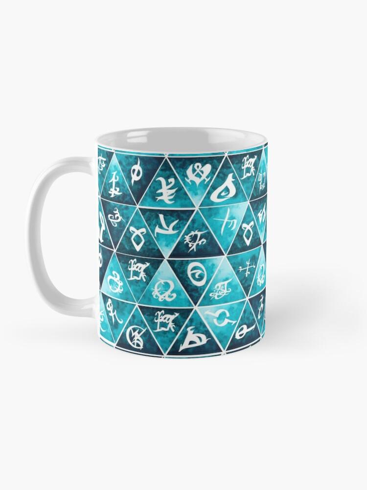 Alternate view of Shadowhunters Runes Mosaic Mug