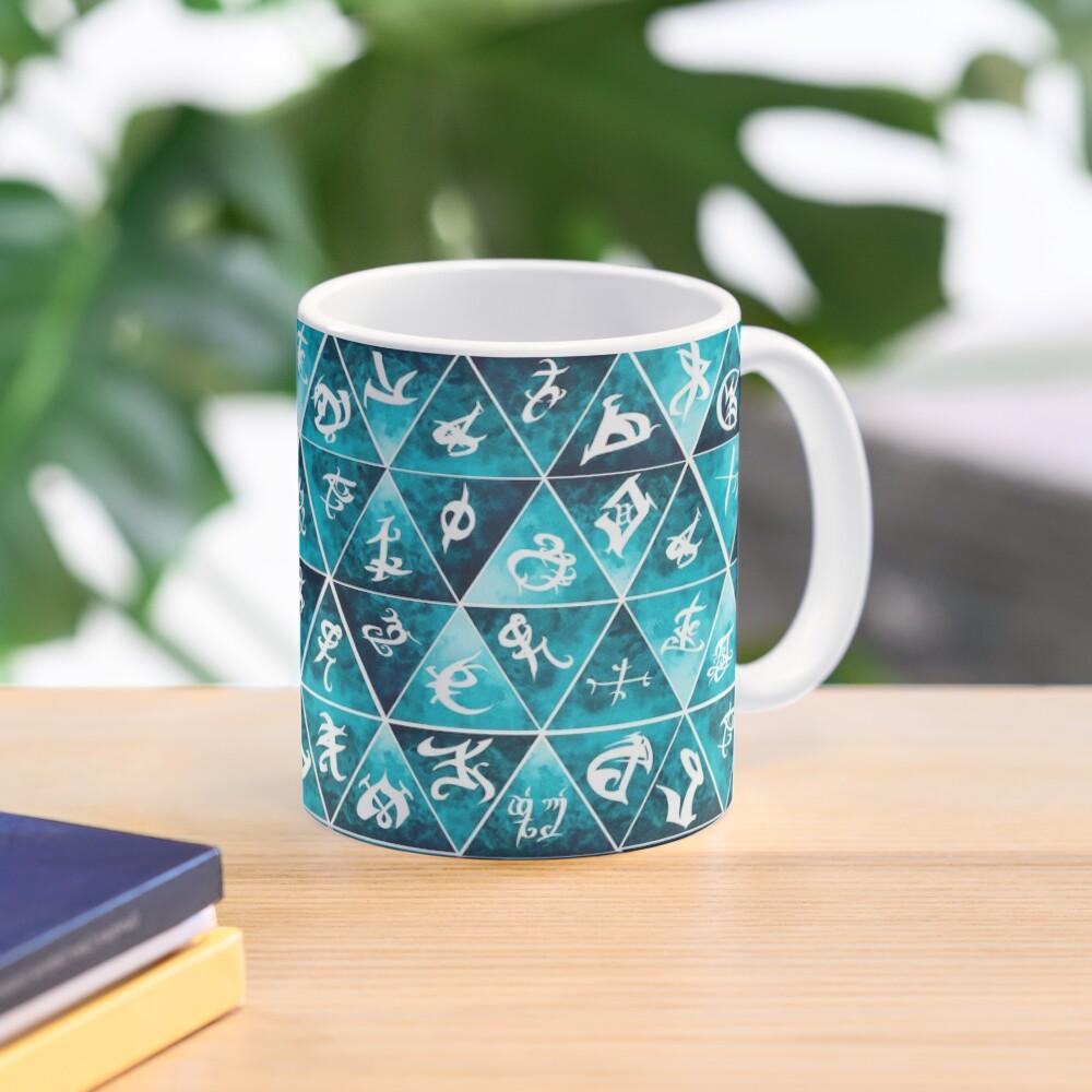 Shadowhunters Runes Mosaic Mug