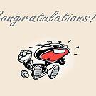 Congratulations! by Chris Baker
