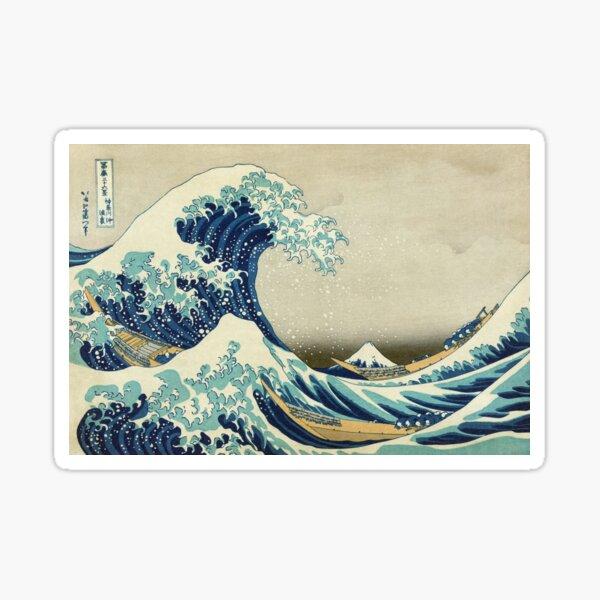 Great Wave off Kanagawa Sticker