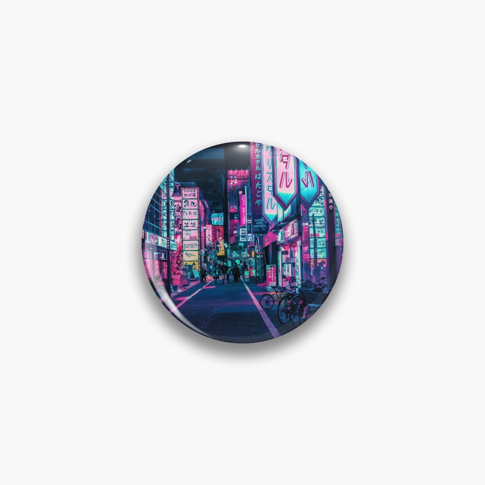 Tokyo - A Neon Wonderland  Pin