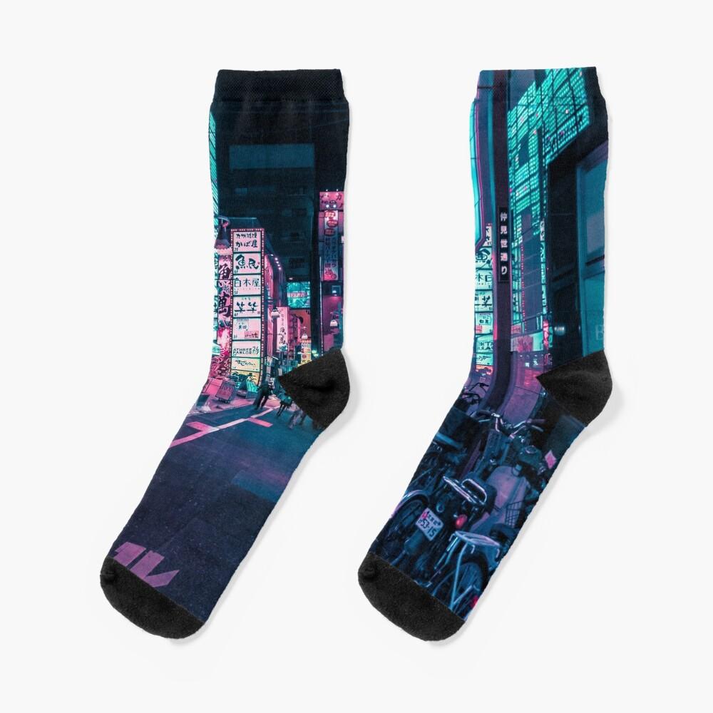 Tokyo - A Neon Wonderland  Socks