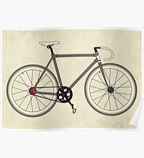Road Bicycle Poster