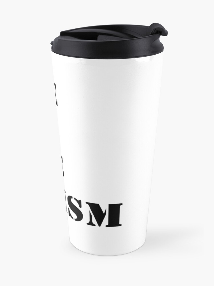 Alternate view of Have sex hate sexism (black) Travel Mug