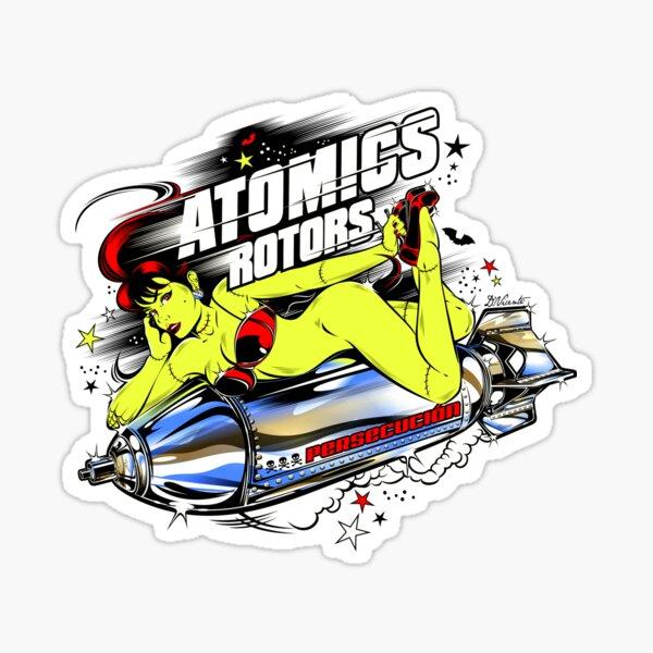 ATOMICS ROTORS Sticker