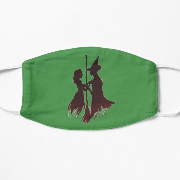 Wicked Broadway Silhouettes Flat Mask