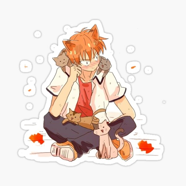Kyo Cats (Fruits Basket) Sticker