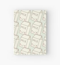 Cute Milk Hardcover Journal