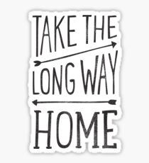 TAKE THE LONG WAY Sticker