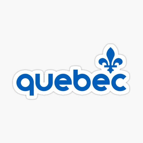 Quebec Sticker