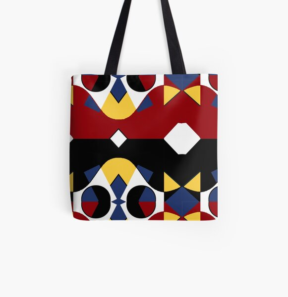 Harlekin Allover-Print Tote Bag