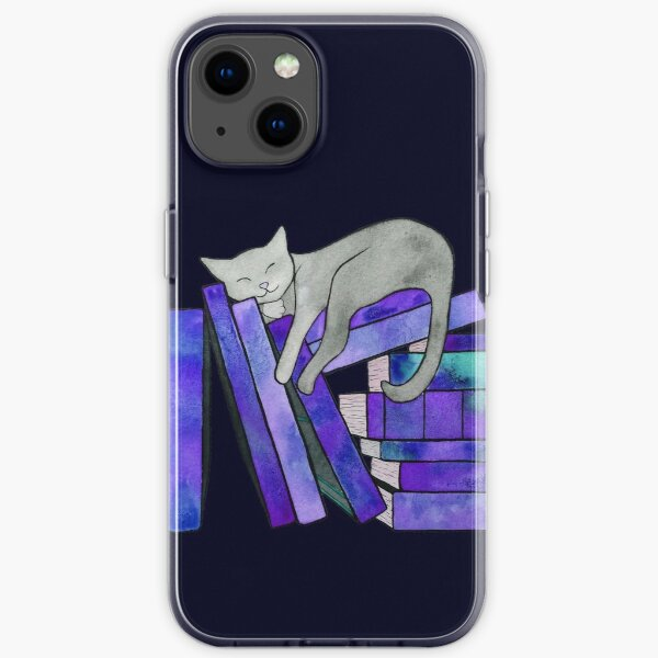 Literary Naps  iPhone Soft Case