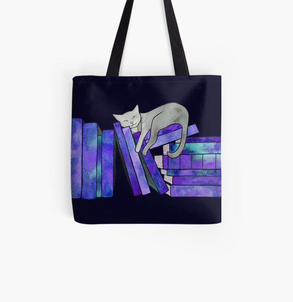 Literary Naps  All Over Print Tote Bag