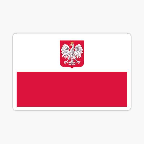 Polish Flag - FLAG0037 Sticker