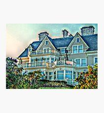 Balconies To Overlook The Ocean, Newport, Rhode Island Photographic Print