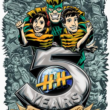 5 Years of Face Melting by hnhshow