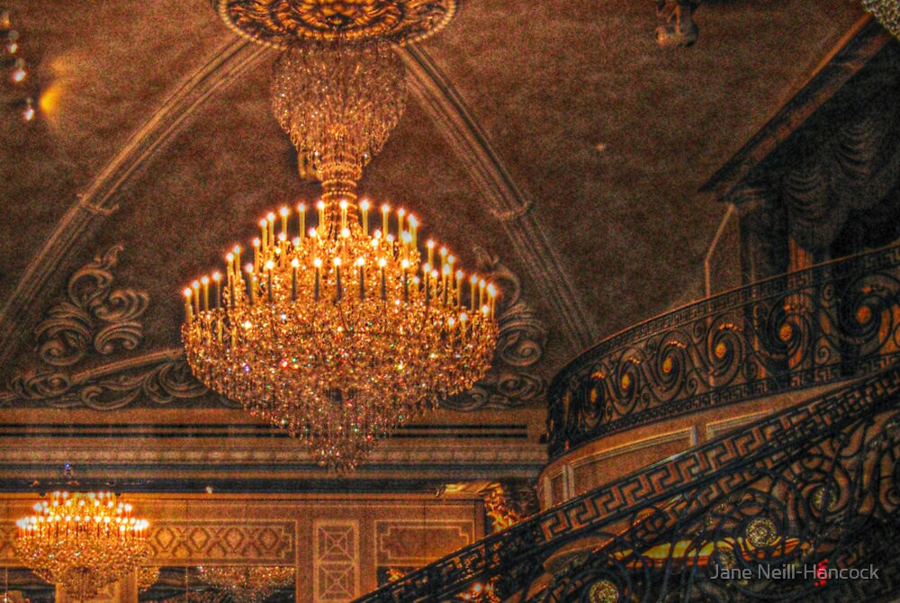Amazing chandelier by the ballroom balcony and spiral staircase to amazing chandelier by the ballroom balcony and spiral staircase to the side the venetian mozeypictures Images