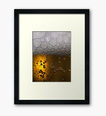 The Perfect Beer Framed Print