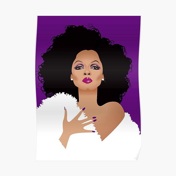 Purple R Poster
