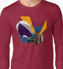 Zeppelin Rides are Just a Universe Away Long Sleeve T-Shirt