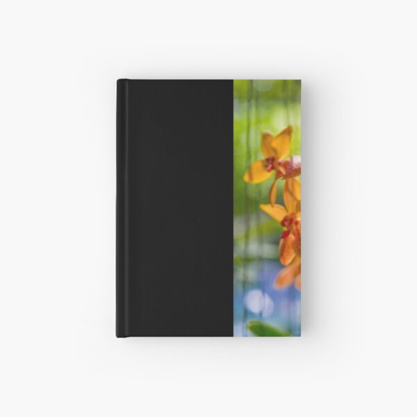Orchidees flottantes  Hardcover Journal