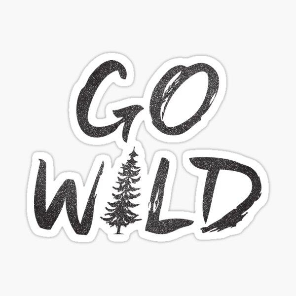 Go Wild Sticker