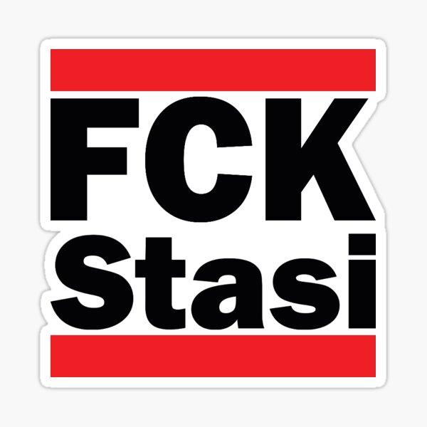 Aufkleber DDR Stasi Staatssicherheit Flagge Fahne 18 x 12 cm Autoaufkleber