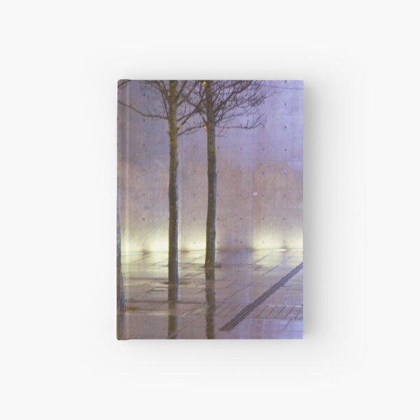 Passage of time in a concrete jungle  Hardcover Journal