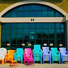 Have A Seat By Jonathan Green by Jonathan  Green