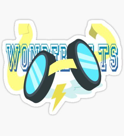 WonderBolts Sticker