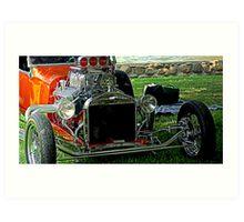 Hot Rods Art Print