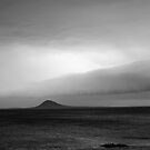 Storm front Lady Chappell Island by Andrew  Makowiecki