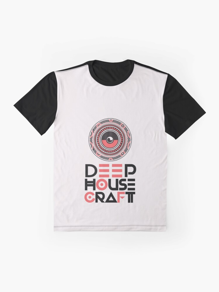 Alternate view of Deep House Craft - craftnifiscence Graphic T-Shirt