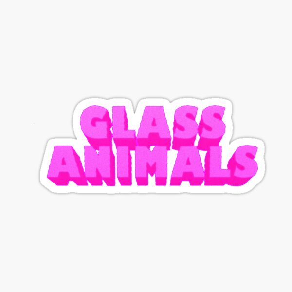 GLASS ANIMALS Sticker