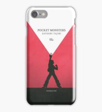 A Monster in your Pocket (Red Version) iPhone Case/Skin