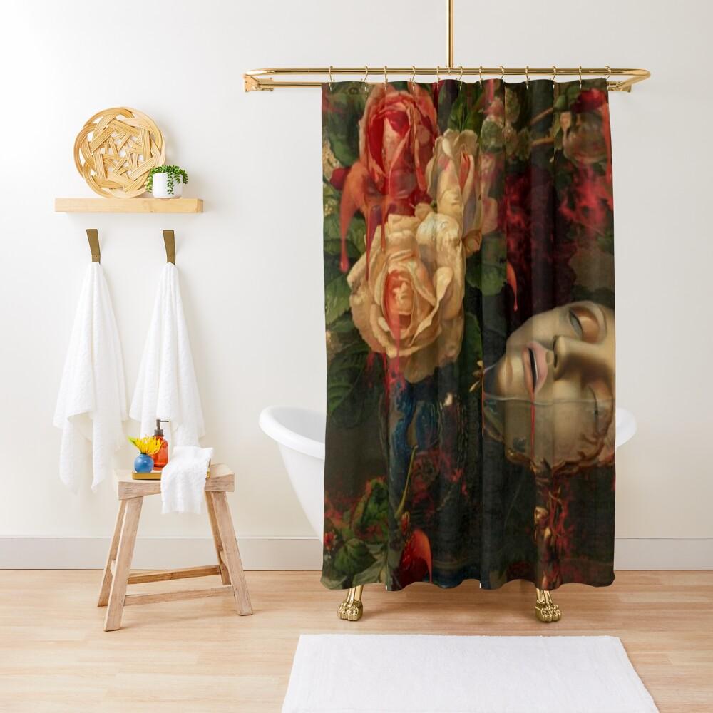 DARK SPRING Shower Curtain