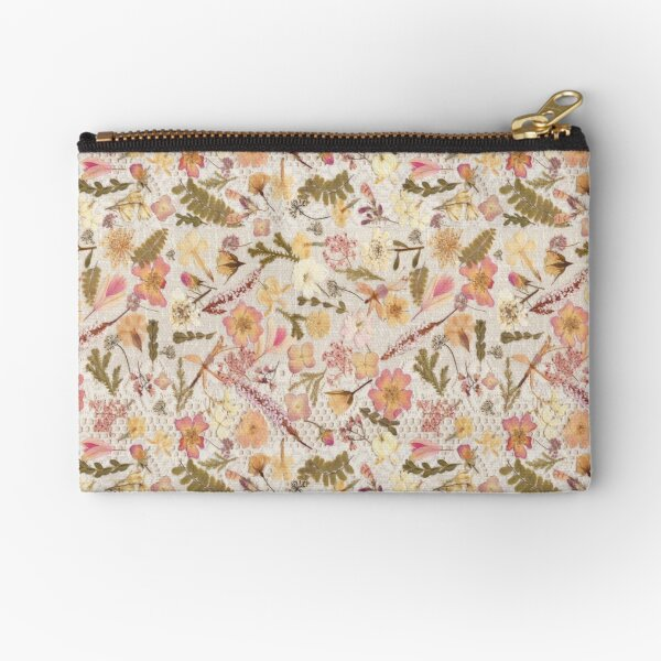 Roses and Lace  Zipper Pouch