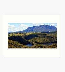 Australia,Tasmania, Mt Roland Art Print