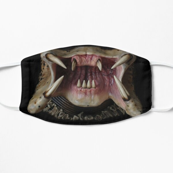Alien Predator Mouth Flat Mask