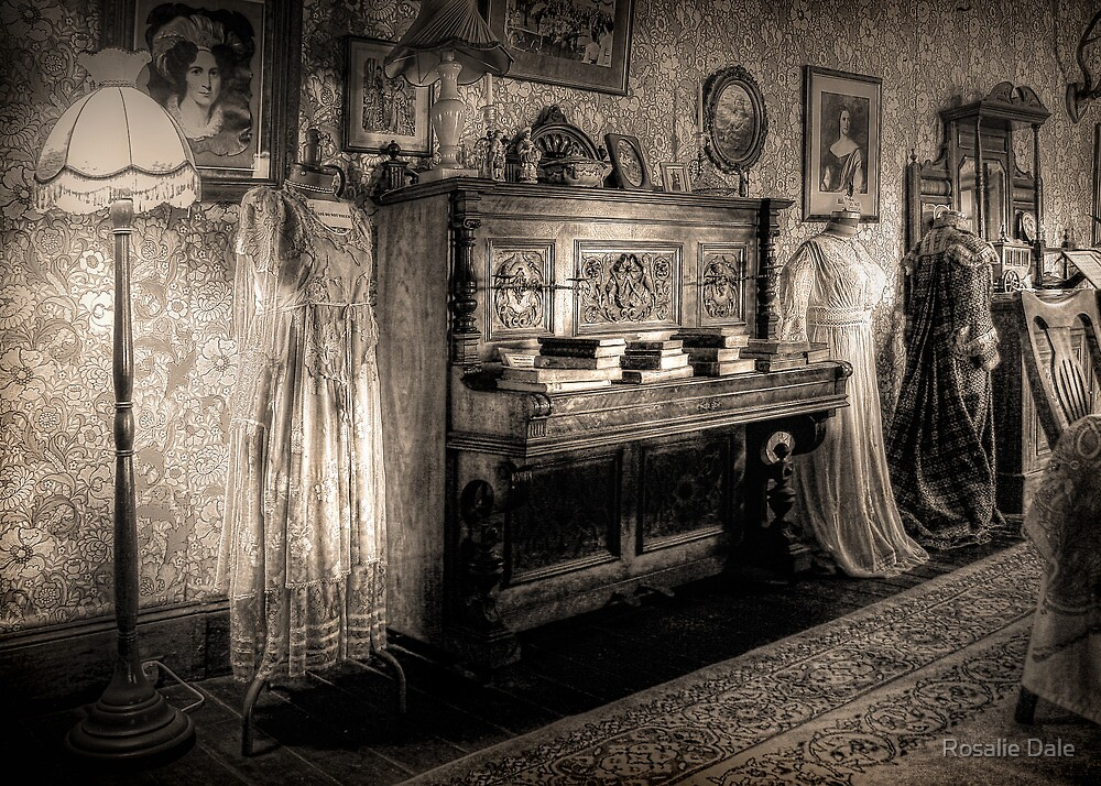 The Parlour ~ sepia by Rosalie Dale