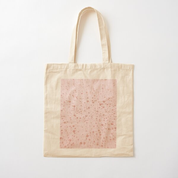-  NATURAL COTTON SHOULDER BAG KEEP CALM AND DRINK WINE Pink Tote