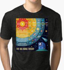 Big Bang Theory Universe Space Tri-blend T-Shirt