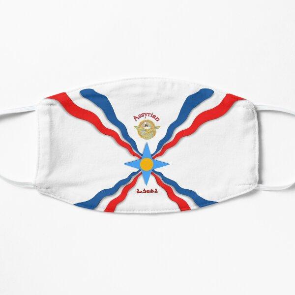 Assyrian Flag Flat Mask