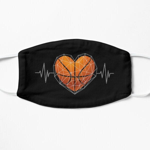 Polygon Triangles Basketball Heart Flat Mask