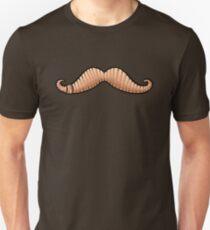 Wormstache (No Text) T-Shirt