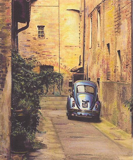 Alley Way by Beetle-Ink  Poulton